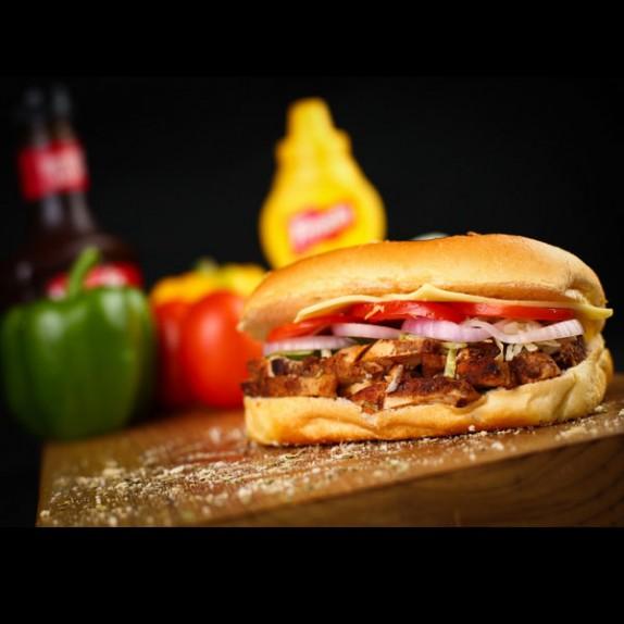 Grilled Chicken Sub Sandwich