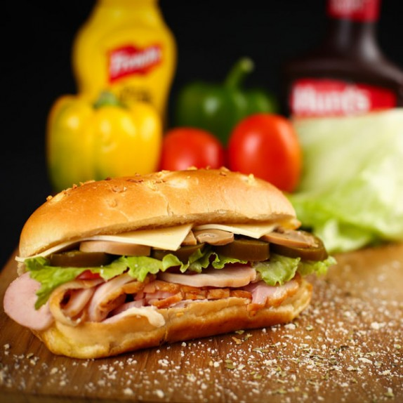 Smoked Chicken Sub Sandwich