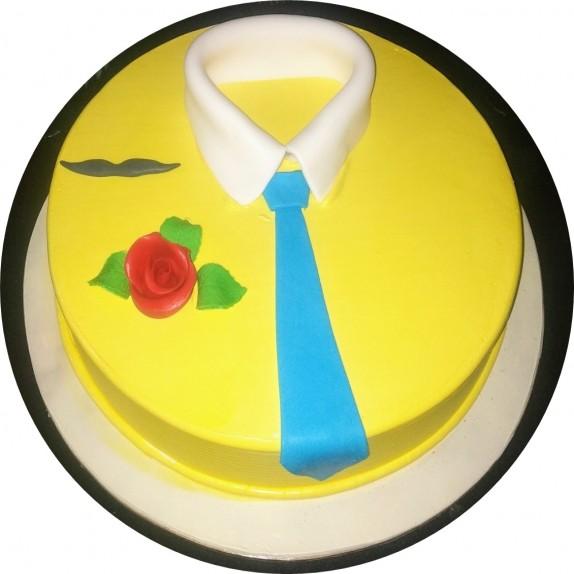 Vanilla Father's Day Cake