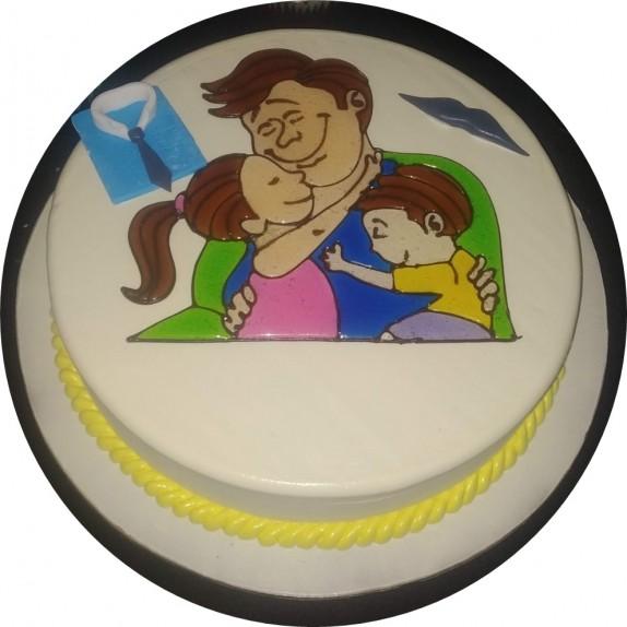 Vanilla Father's Day Cake 2
